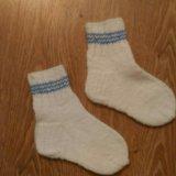 Носки вязаные. Фото 1.