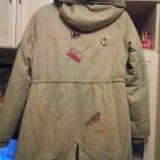 Куртка-парка женская, подростковая. Фото 4.