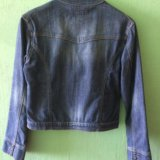 Джинсовая куртка. размер 46-48. Фото 2.