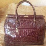 Новая кожаная сумка lucia tommasi, италия. Фото 3.