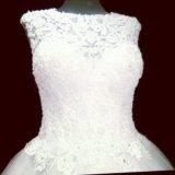 Новое  р-р 50-52 свадебное платье. Фото 2.