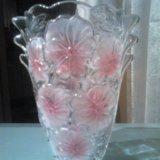 Хрустальные вазы большие. Фото 1.