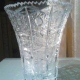 Хрустальные вазы большие. Фото 2.