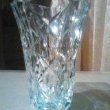 Хрустальные вазы большие. Фото 3.