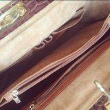 Новая кожаная сумка lucia tommasi, италия. Фото 4.
