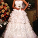 Новое кремовое свадебное платье. Фото 1. Санкт-Петербург.