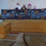 Угловой диван в хорошем состоянии. Фото 1. Калининград.