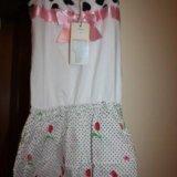 Новый комплект платье с лосинами. Фото 1.