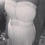 Новое в наличии свадебное платье. Фото 1.