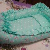 Кокон люлька для новорожденного, бортики для сна. Фото 1.