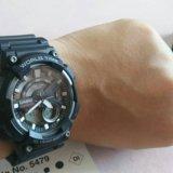 Новые мужские электронно-аналоговые часы casio. Фото 2.
