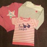 Пакет вещей для девочки 116-120 (костюм+футболки). Фото 3. Москва.