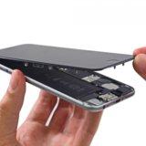 Замена экрана iphone aйфон 6. Фото 2. Лобня.