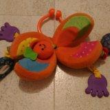 Тини лав игрушка апельсин погремушка tiny love. Фото 3.