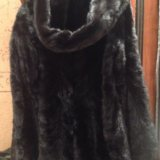 Норковая шуба из кусочков. Фото 1. Москва.