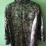 Кожаный пиджак (куртка). размер 46-48. Фото 2.