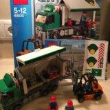 Конструктор lego city 60020 грузовик. Фото 1.