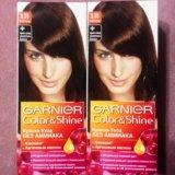 Краска для волос garnier color&shine 5.35 (2 шт.). Фото 2.