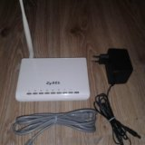 Wi-fi роутер zyxel. Фото 3.
