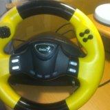 Игровой руль для компьютера speedwheel rv series. Фото 1.