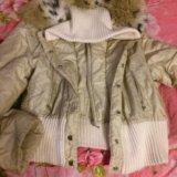 Куртка с меховым воротником. Фото 1.