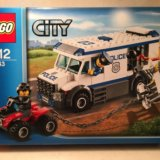 Lego city 60043 транспортировка заключённого. Фото 2. Москва.