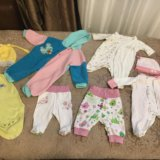 Вещи для новорождённой. Фото 2.