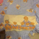 Детское белье в кроватку с бамперами. Фото 1.