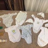 Вещи для новорождённой. Фото 4.
