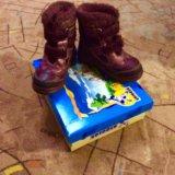 Зимние ботинки котофей. Фото 2.