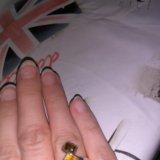 Кольцо серебро с янтарем. Фото 1. Москва.