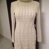 Вязаное платье оригинал. Фото 1. Гурьевск.
