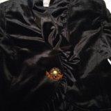 Велюровый нарядныц пиджак. Фото 2.