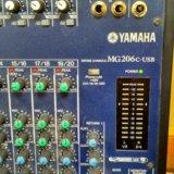 Микшерный пульт yamaha mg - 206c usb. Фото 2. Иркутск.
