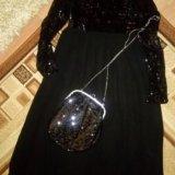Платье в пол 50-52 размер. Фото 3.