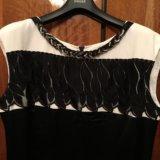 Платье атласное caterina leman р.52. Фото 1.