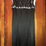 Платье атласное caterina leman р.52. Фото 2.