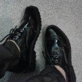 Ботинки лаковые черные 37. Фото 3. Ярославль.
