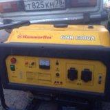 Бензиновый генератор hammerflex gnr 6000a. Фото 2. Санкт-Петербург.