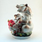Статуэтка лфз медведица с колыбелью. Фото 4. Санкт-Петербург.