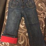 Oldnavy,джинсы на флисе. Фото 1.