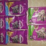 Вискас 8 пакетиков корма. Фото 1.