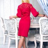 Роскошное женственное платье. Фото 2.