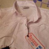 Блузка (школьная)для девочки болгария. Фото 1.
