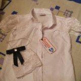 Блузка (школьная)для девочки болгария. Фото 2.