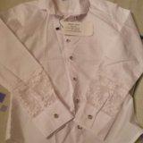 Блузка (школьная)для девочки болгария. Фото 4.