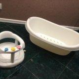 Ванночка и стульчик для купания. Фото 1.