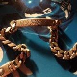 Серебряный браслет. Фото 1.