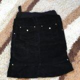 Вельветовая юбочка для беременных. Фото 2. Владивосток.