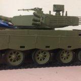 Модель танка т. Фото 2. Ржавки.